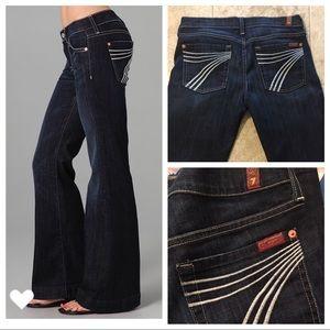 7 For All Mankind Jeans - 7 FAM Dojo Flip Flop Flare Jeans